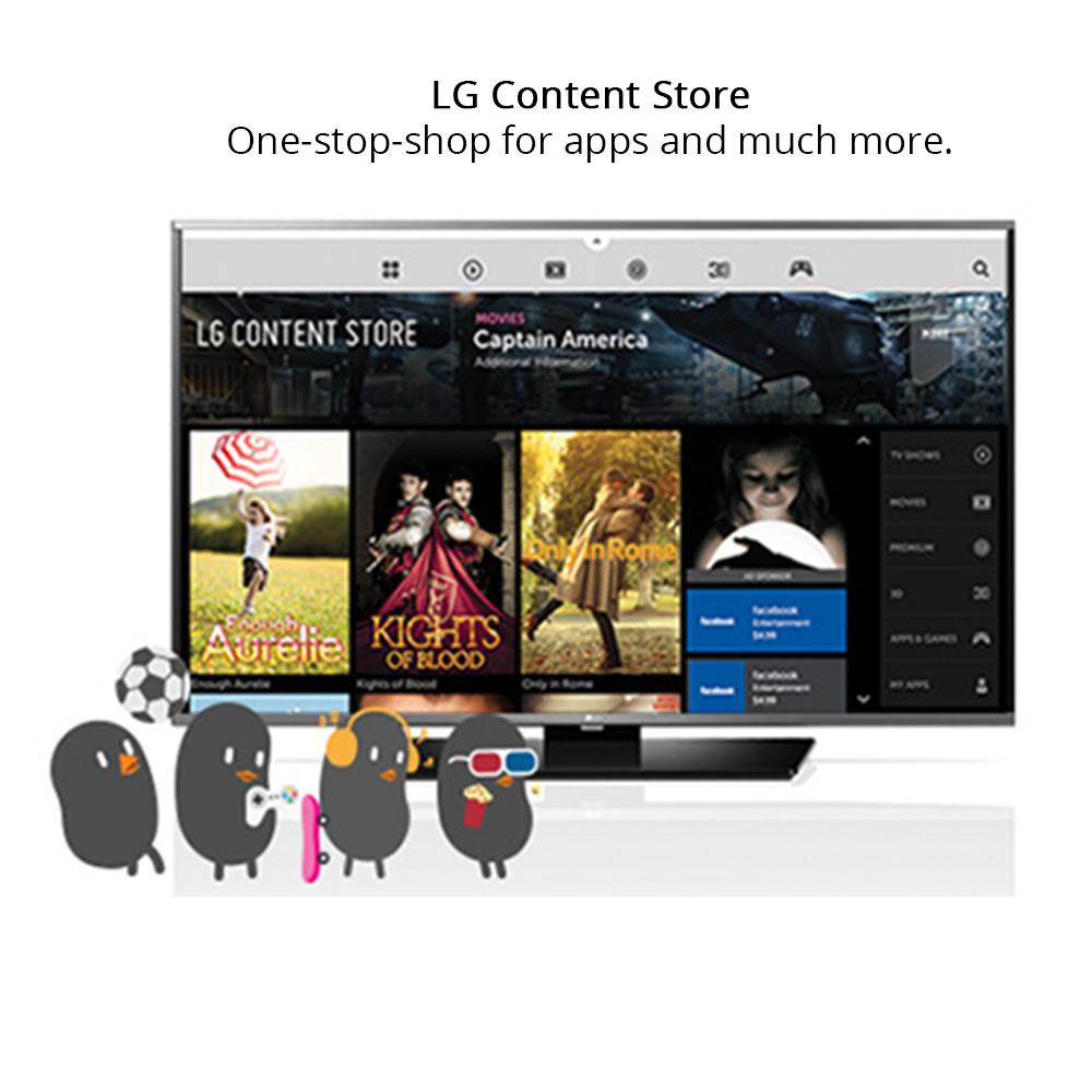 Buy LG 80 cm (32 inch) Full HD LED Smart TV, 32LH604T at
