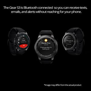 Samsung Gear S3 Frontier SM-R760N Smart Watch, Dark Gray