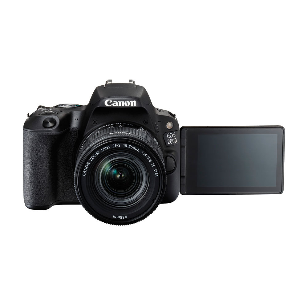 Buy Canon EOS 200D DSLR Camera with 18-55 mm and 55-250 mm Dual Lens