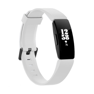 Buy Fitbit Inspire HR FB413BKWT Fitness Band, White/Black at