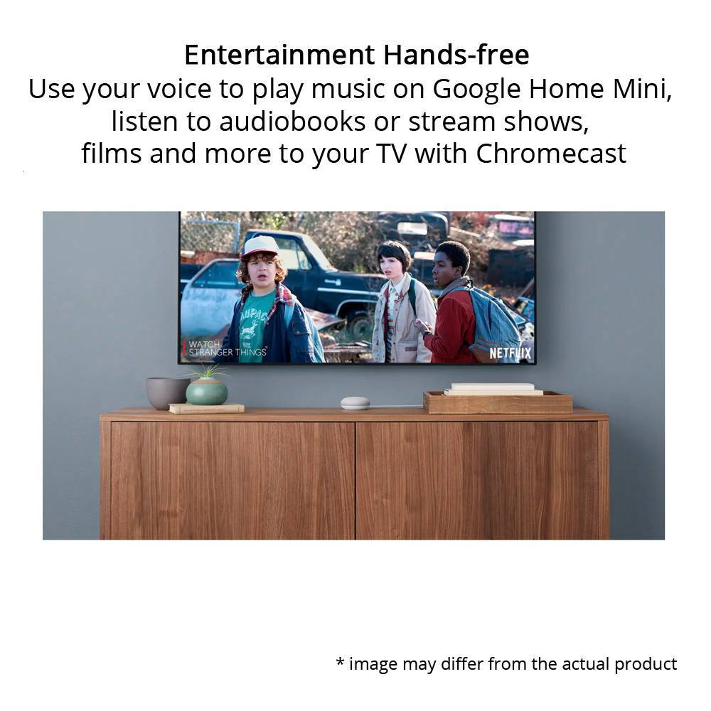 Google Home Mini Smart Voice Activated Speaker, Coral