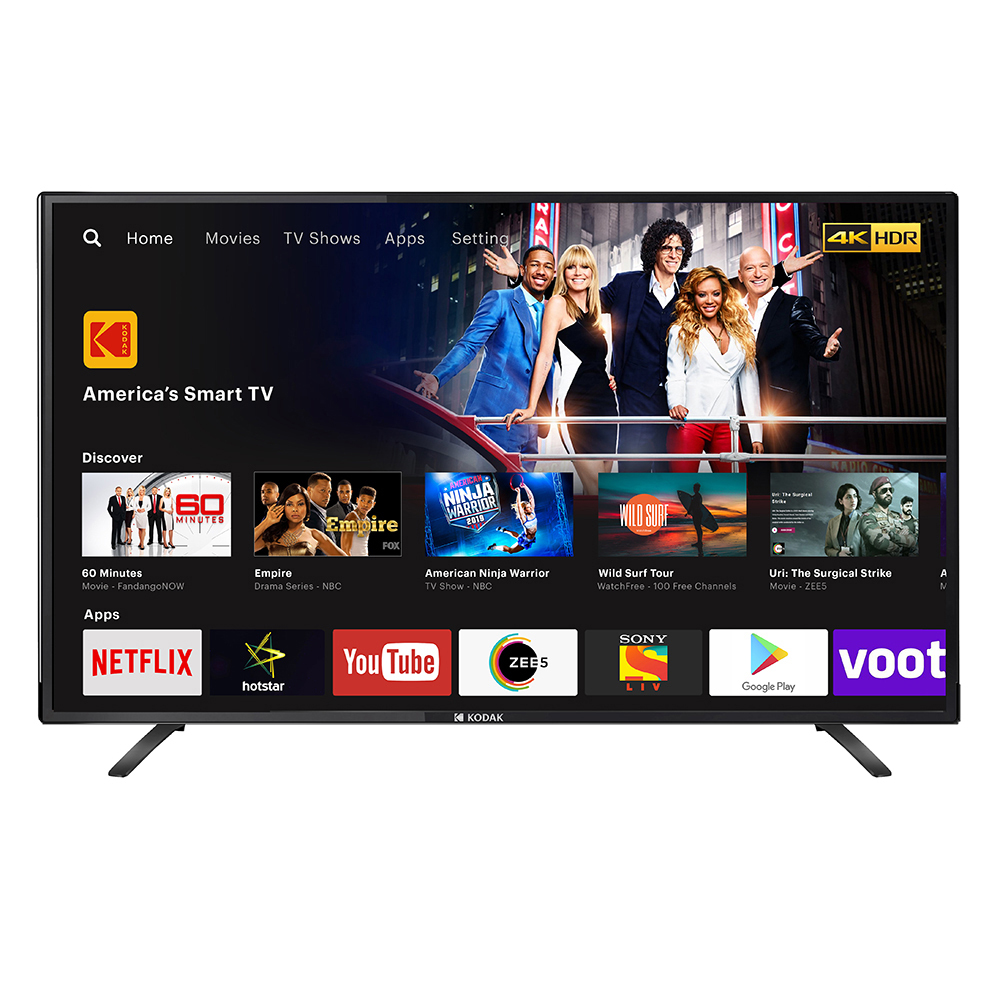 Kodak 43UHDXSMART | Best LED TVs under 20000 : Onida