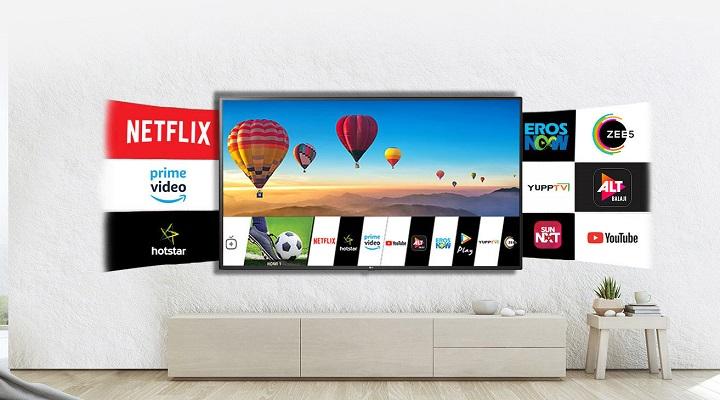 LG 139 7 cm (55 inch) Ultra HD 4K LED Smart TV,55UM7300PTA
