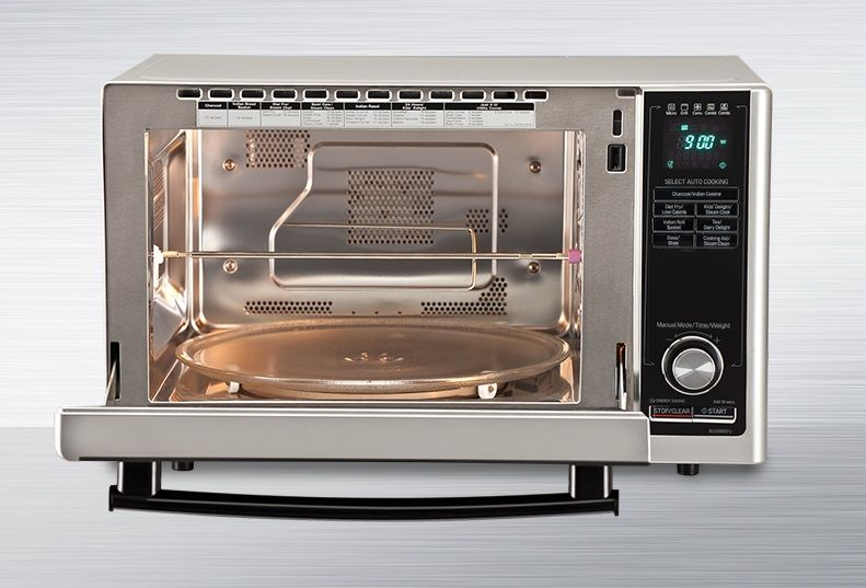 Buy Lg 21 Litres Convection Microwave Oven Mc2146bg At
