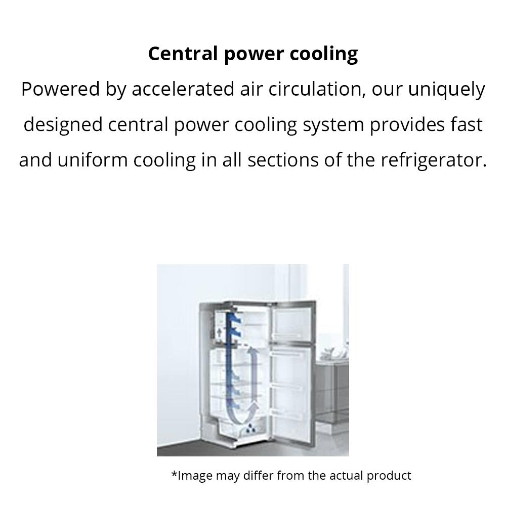 buy liebherr 265 litres 4 star double door refrigerator, stainless steel  look tcss 2620 at reliance digital
