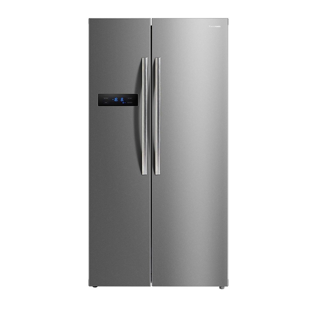 Buy Panasonic 584 litres Side-by-Side Refrigerator, Stainless Steel  NR-BS60MSX1 at Reliance Digital