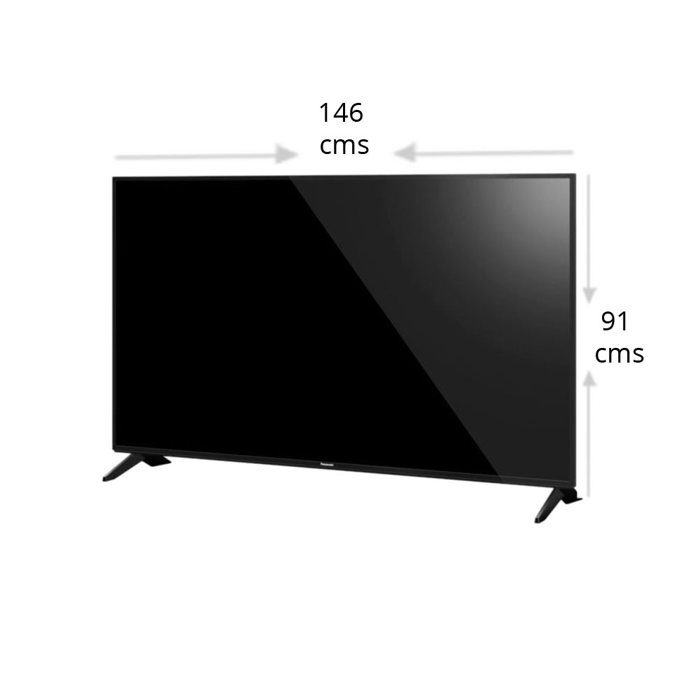 Panasonic 165 cm (65 inch) Ultra HD 4K LED Smart TV, TH-65FX600D