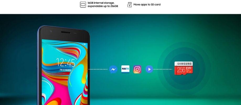 Buy Samsung Galaxy A2 Core Smart Phone 16 GB, 1 GB RAM, Blue at