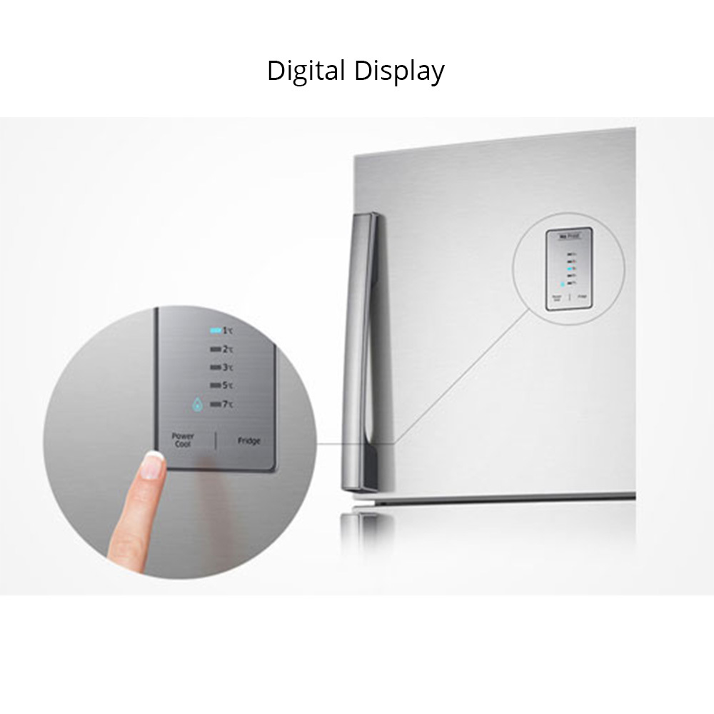 Buy Samsung 551 Litres 3 Star Double Door Refrigerator Easy Clean Fridge Alarm Circuit Tiny Guard With Steel Rt56k6378sl At Reliance Digital