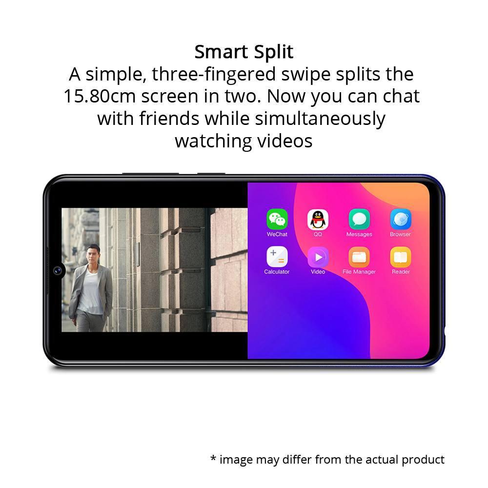 Vivo Y93 Smart Phone 64 GB, 3 GB RAM, Starry Black