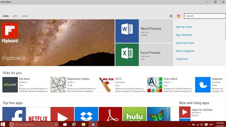 Hands-on with the Windows 10 Technical Preview | | Resource