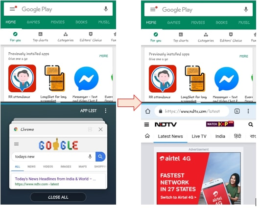 Use Multiple Apps on Your Android Phone with Splitscreen